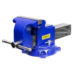 """Тиски слесарные STALEX """"Гризли"""", 200 х 200 мм., 360°, 29,5 кг. Stalex Тиски слесарные Инструмент и оснастка"""