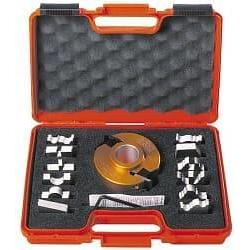 Набор фрезы и ножей 13-ти профилей 692А CMT CMT Насадные со сменными ножами SP Фрезы по дереву