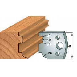 Комплекты ножей и ограничителей серии 690/691 #026 CMT Ножи и ограничители для фрез 40 мм Ножи